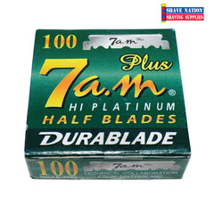 7AM Hi-Platinum Half Blades 100ct