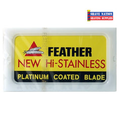 Feather Hi-Stainless DE Blades 10 Pk