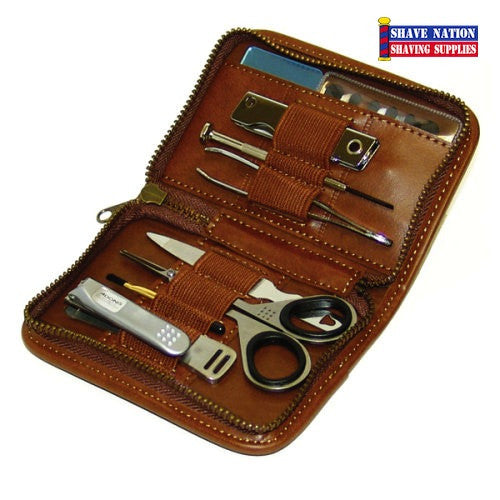 Adonis 9 Piece Grooming Kit for Men
