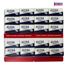 Astra Stainless DE Blades 100ct (Blue)