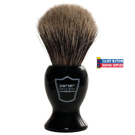 Parker Pure Badger Brush Long Handle
