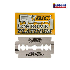 Bic Chrome Platinum DE Blades 5 (Greece)