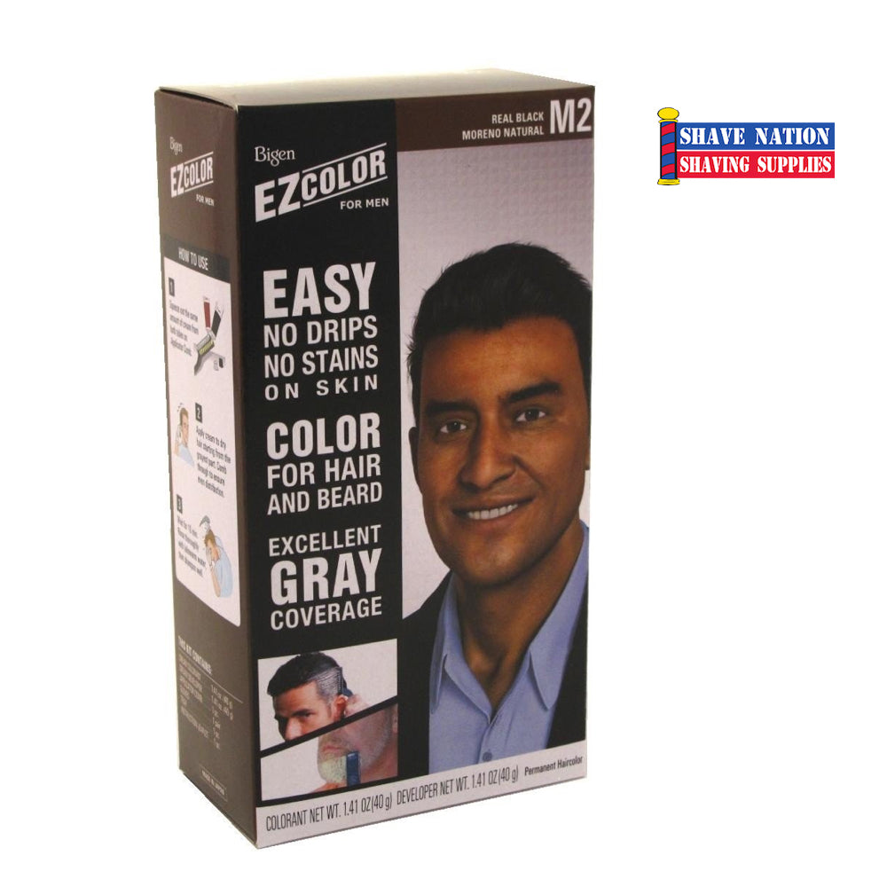 Bigen EZCOLOR For Men Hair Colorant M2 Real Black