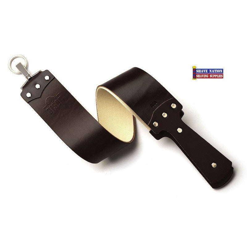 Bison Ezra Arthur USA 2-1/2 Inch Brown English Bridle Strop