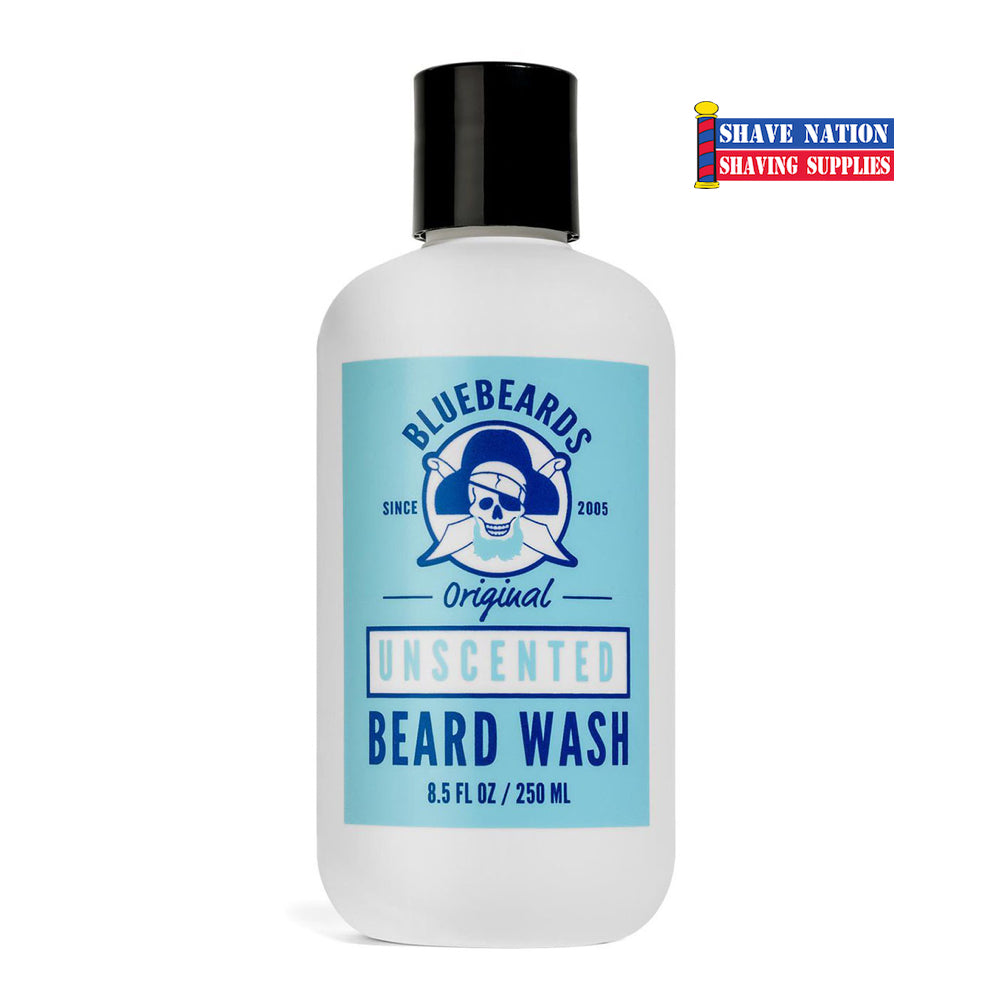 Bluebeards Original Unscented Beard Wash