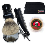 Shave Nation Straight Razor Shaving Set