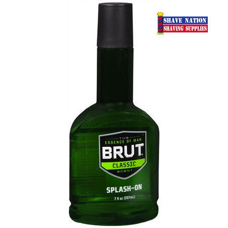 BRUT Aftershave Splash Classic Scent