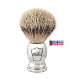 Parker Silvertip Brush Chrome