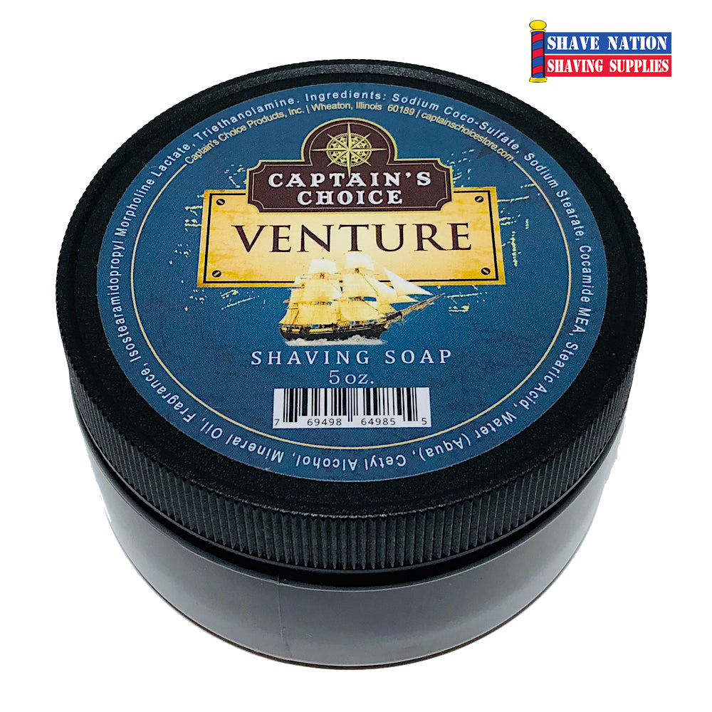 Captain's Choice Shaving Soap - Venture