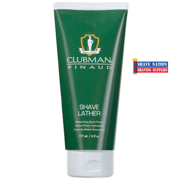 Clubman Pinaud Moisturizing Shave Lather in Sturdy Tube