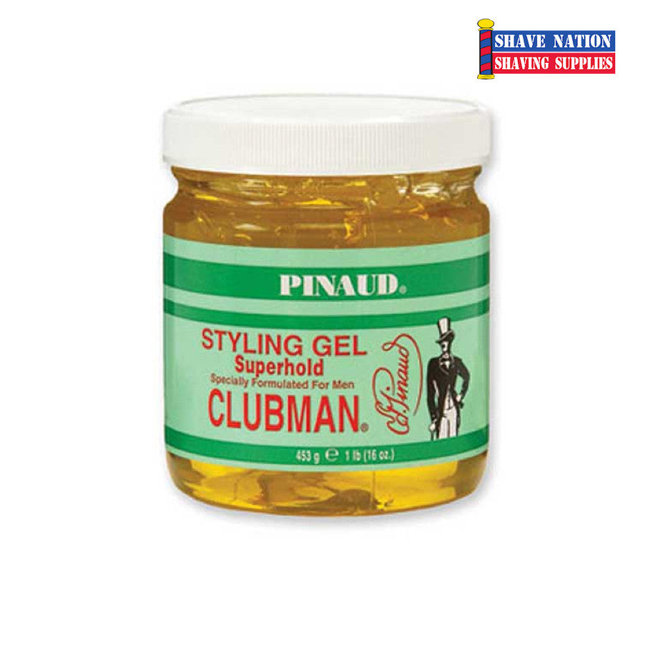 Clubman Super Hold Hair Gel