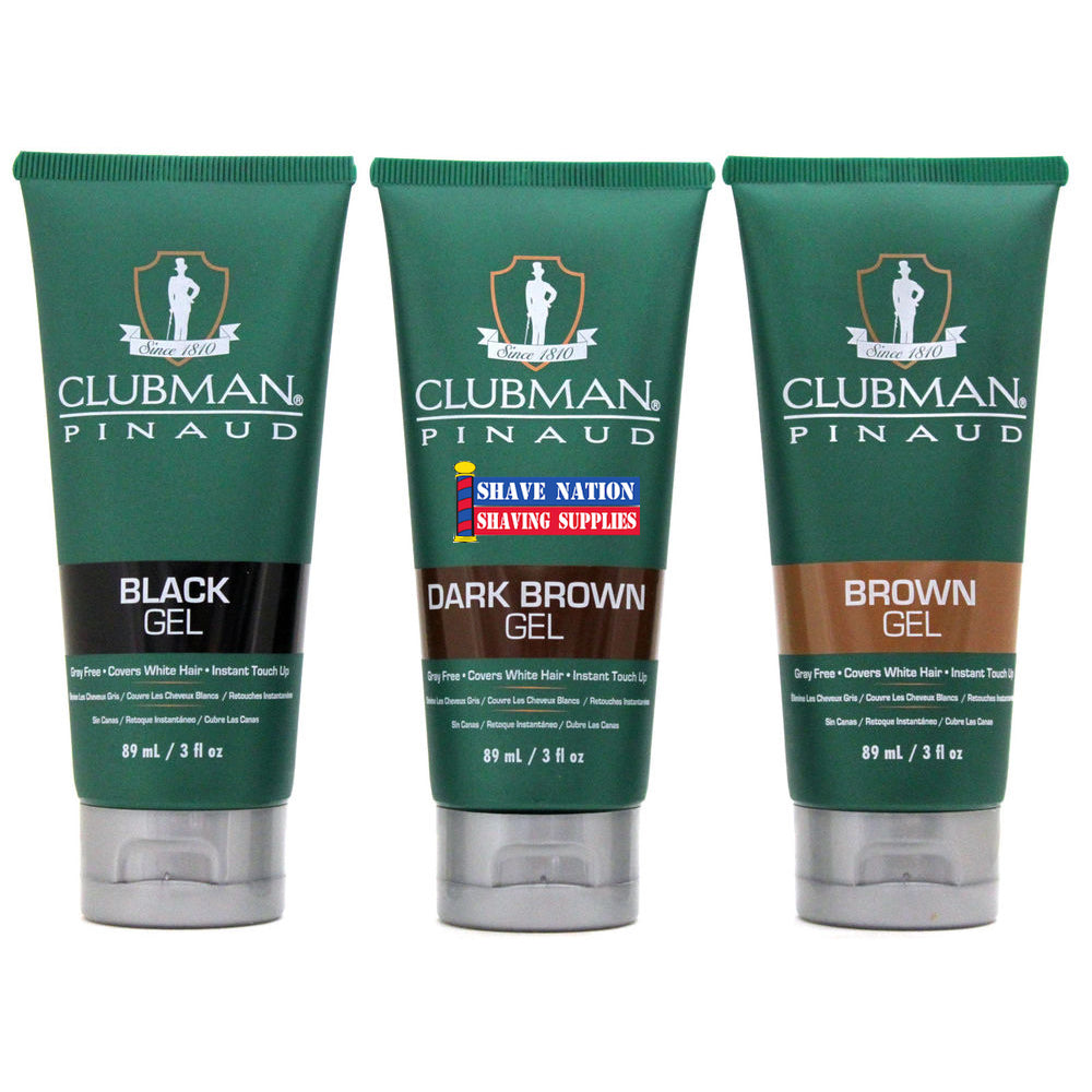 Clubman Temporary Hair Color Gel | Shave Nation Shaving Supplies®