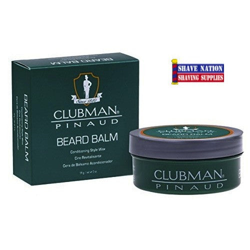 Clubman Beard Balm Conditioning Wax