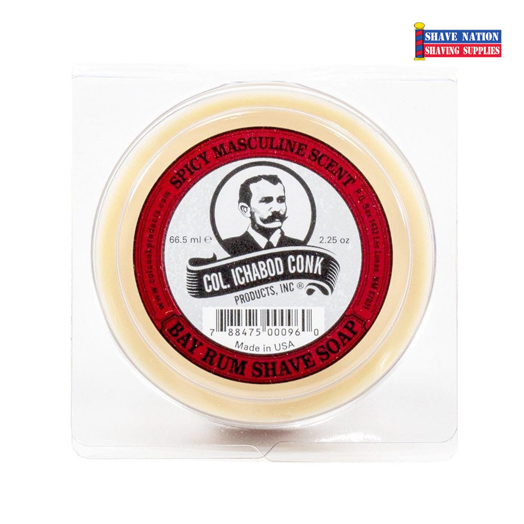 Colonel Conk Shaving Soap Bay Rum Small