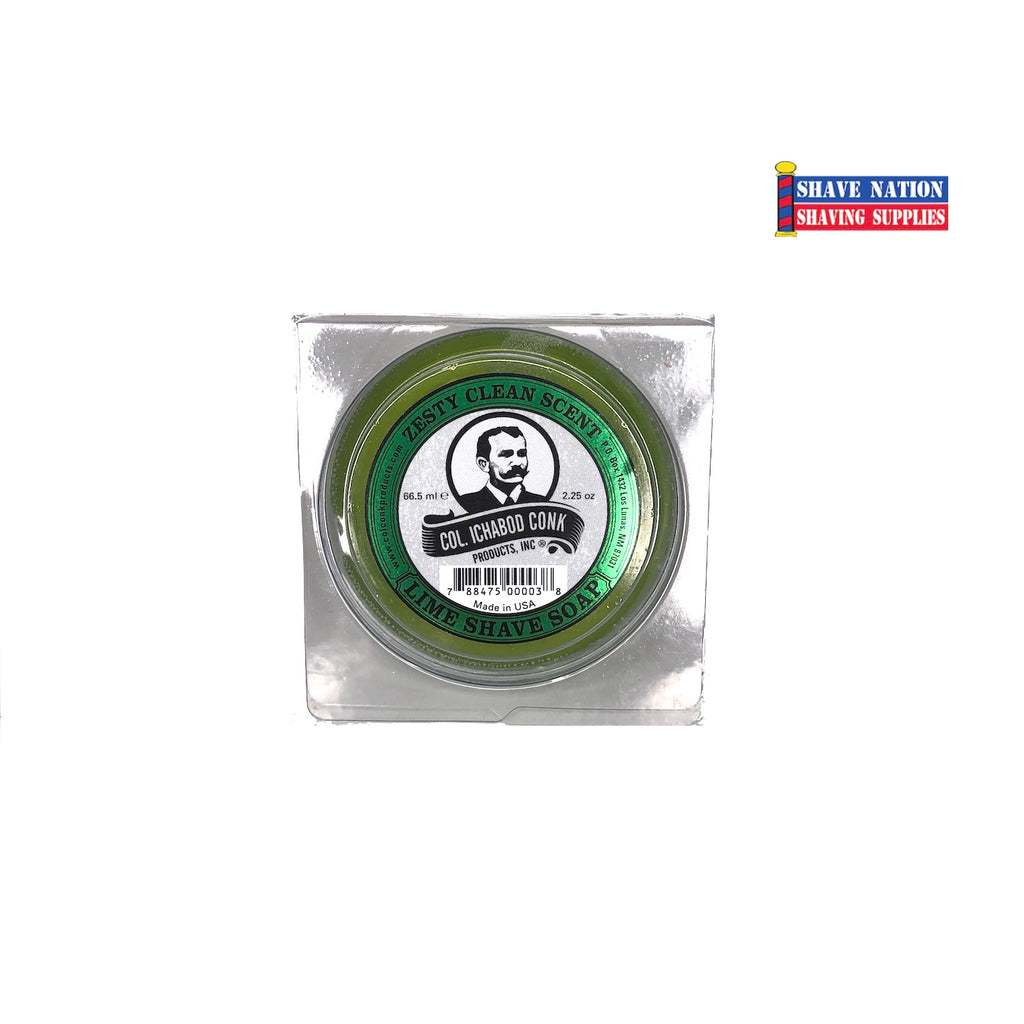 Colonel Conk Shaving Soap Lime Small