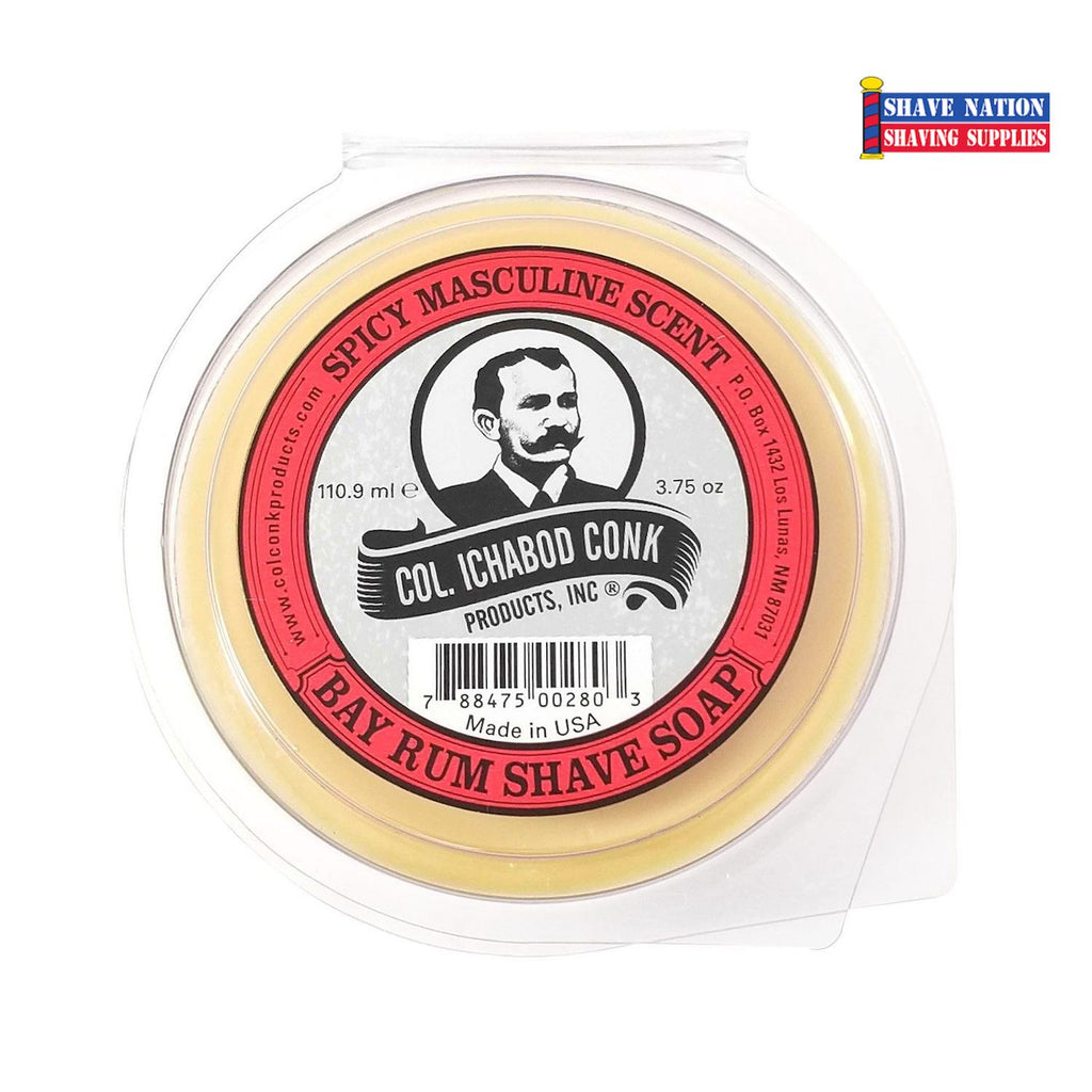 Colonel Conk Shaving Soap Bay Rum Large