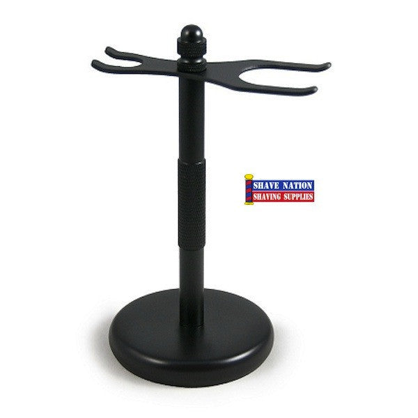 Colonel Conk Razor & Brush Stand-Black