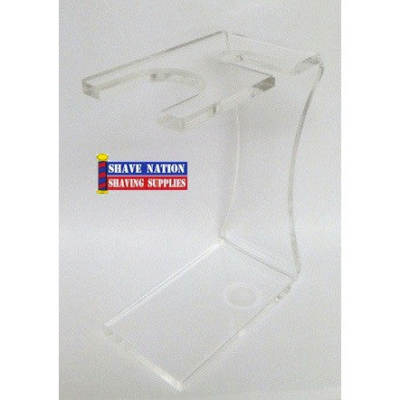 Colonel Conk Clear Acrylic Stand for Brush & Razor