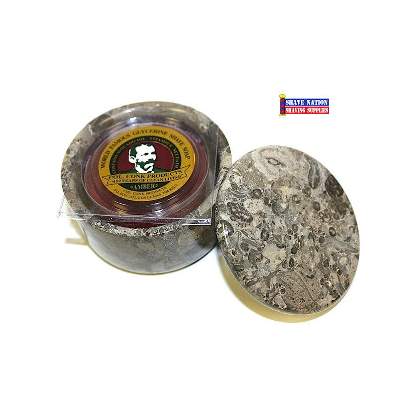 Small Stone Marble Bowl & Soap