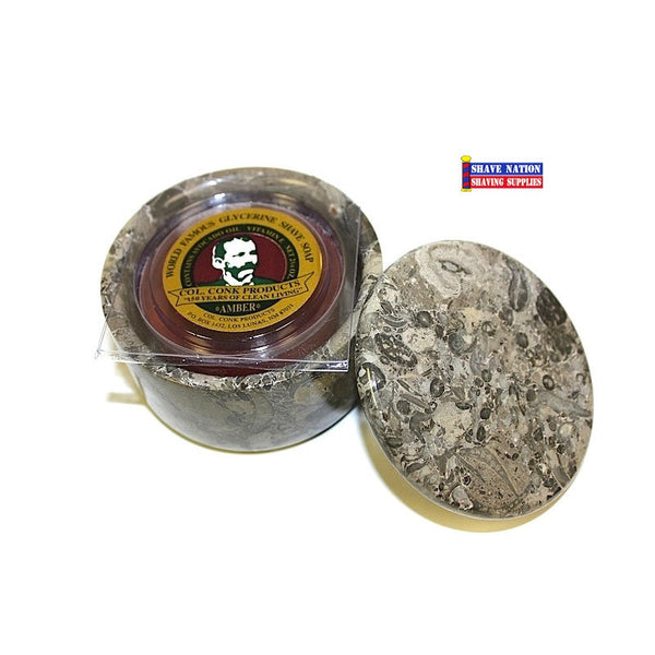 Small Stone Marble Bowl With Lid Amp Shaving Soap Shave