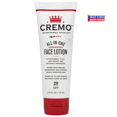Cremo Face Moisturizer All-In-One Lotion Tube