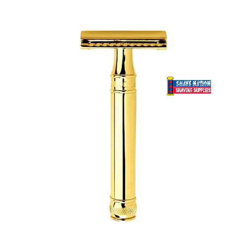 Edwin Jagger Closed Comb DE8911GBL Smooth Gold Safety Razor