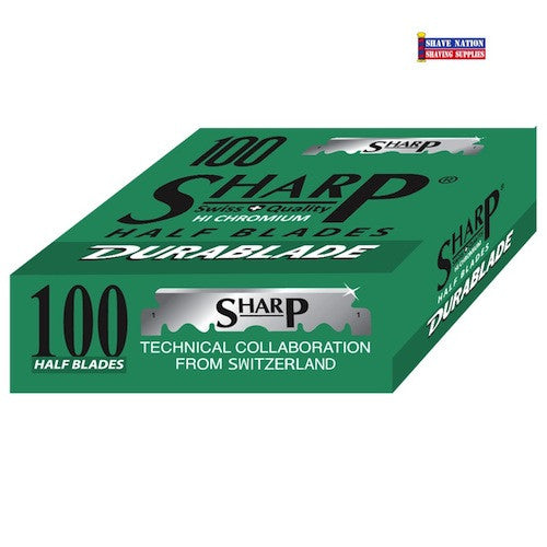 Sharp HI CHROMIUM Half Blades 100Pk.