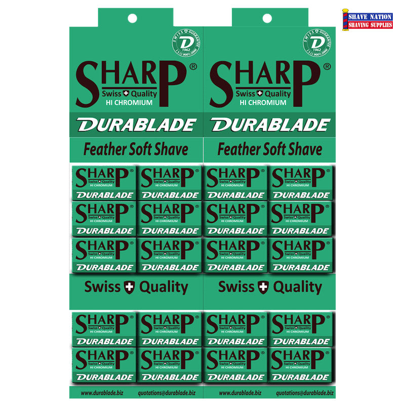 Sharp Hi Chromium DURABLADE DE Blades 100ct
