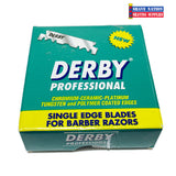 Derby Professional Half Blades 100ct