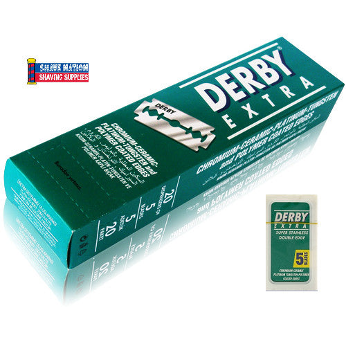 Derby Extra Stainless DE Blades 100 Ct.