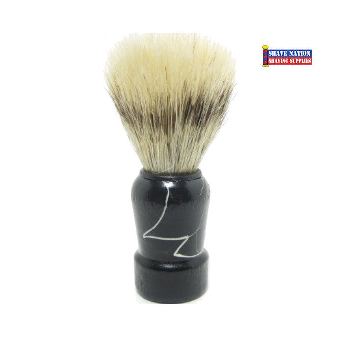 Diane Horse Brush Wood Handle