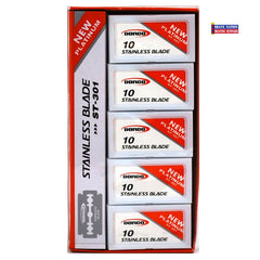 Dorco Stainless DE Blades Red 100ct