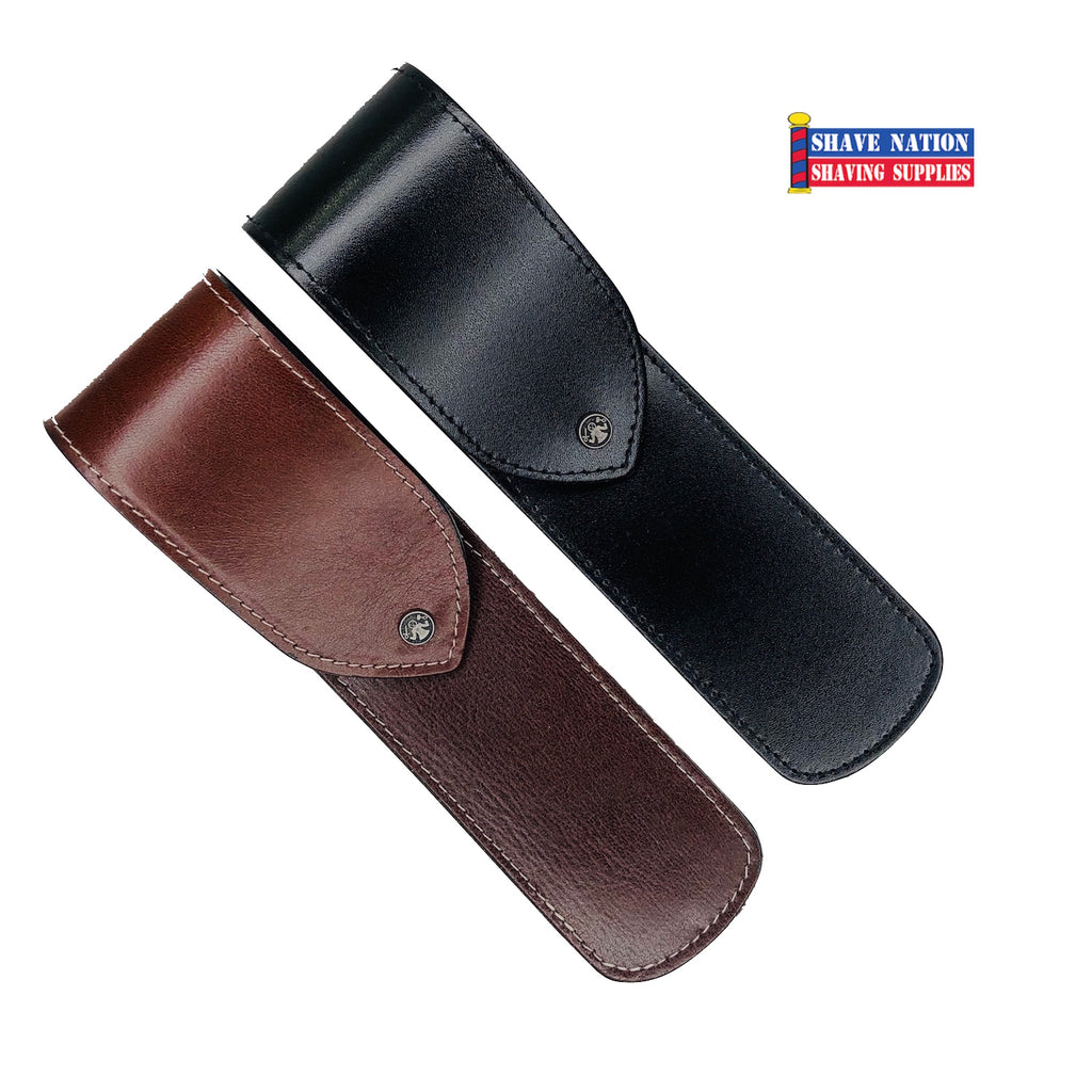 Dovo Leather Straight Razor Sheath