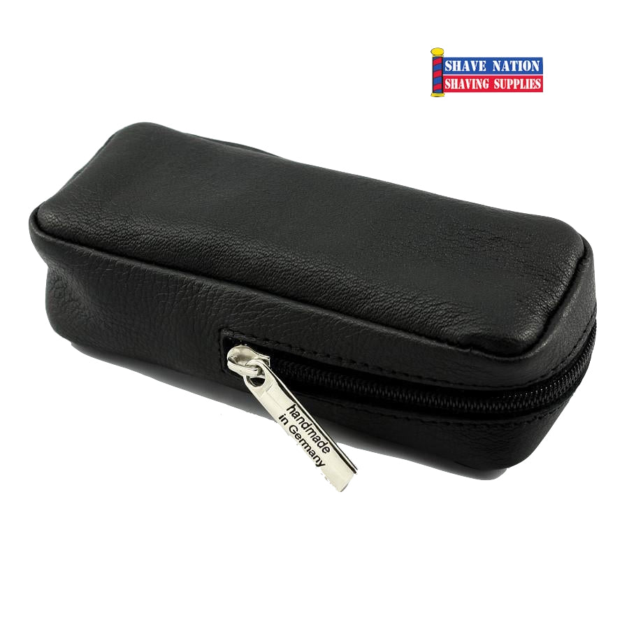 Dovo Leather Case for Merkur Safety Razor