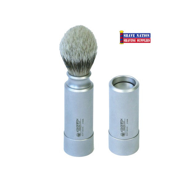 Dovo/Merkur Silvertip Travel Brush