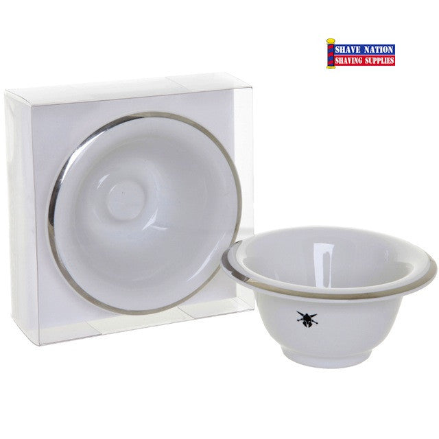 Dreadnought Shaving Bowl Porcelain