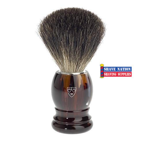 Edwin Jagger Pure Badger Tortoise Handle Brush