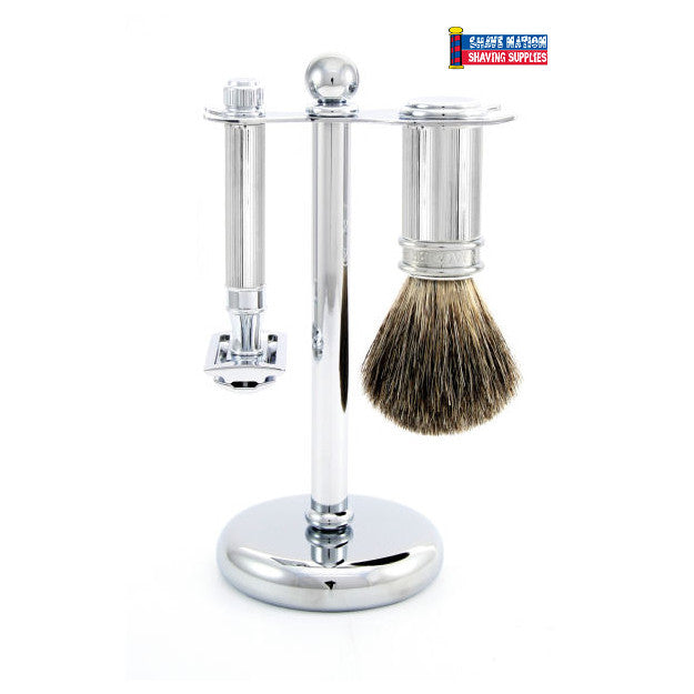 Edwin Jagger Lined Safety Razor Set