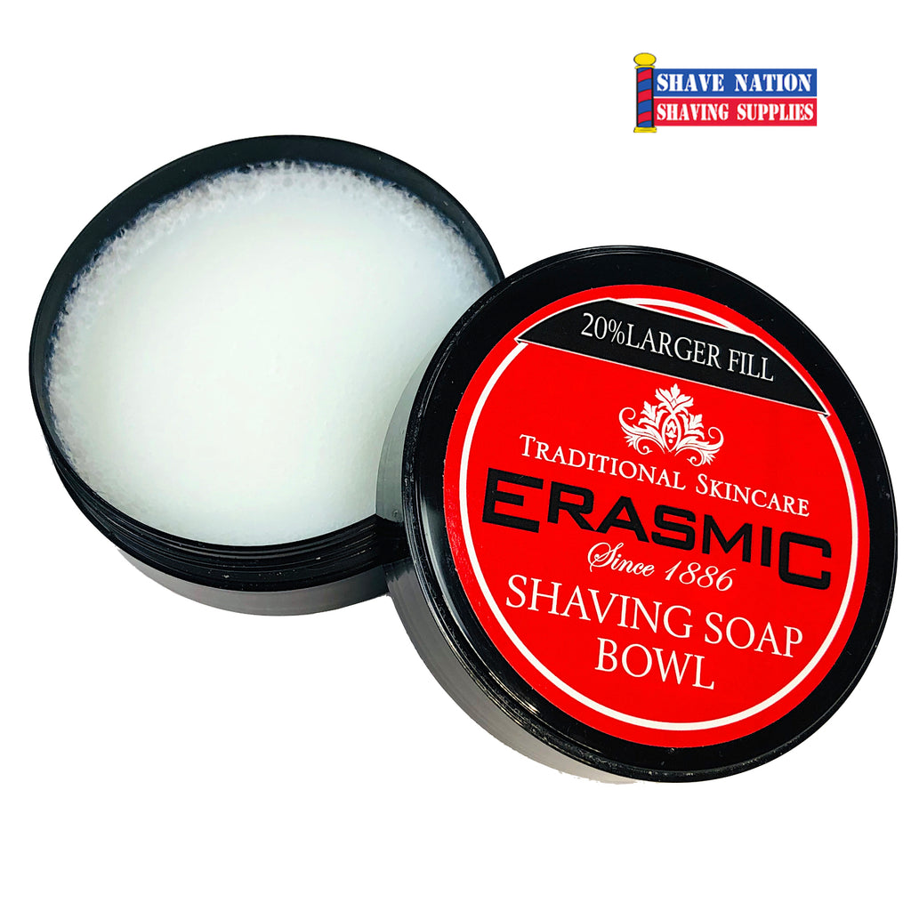 Erasmic Shaving Soap in Bowl