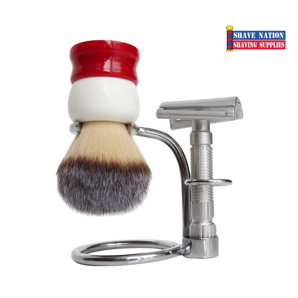 Fine Razor & Brush Stand fits Classic or Stout Brush