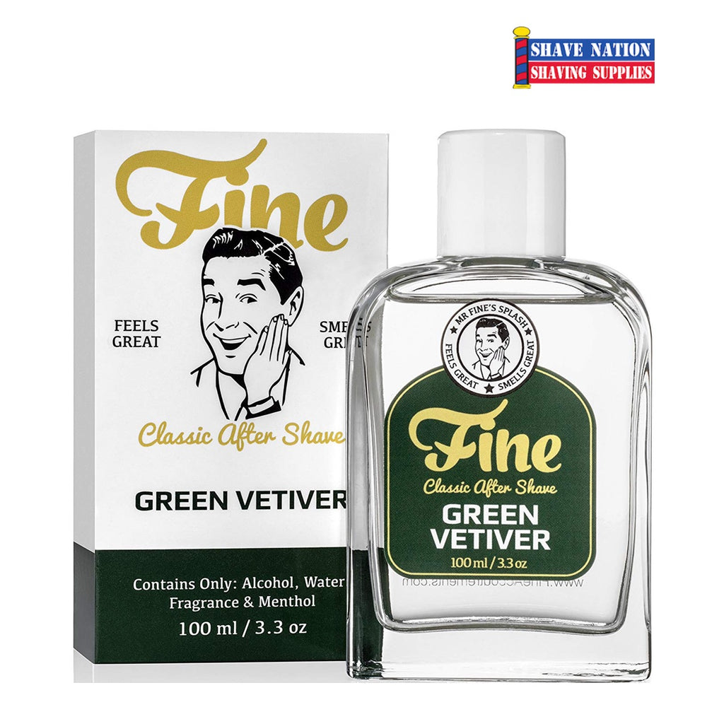 Fine Accoutrements Green Vetiver Aftershave