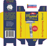 Fine MARVEL Three Piece Safety Razor