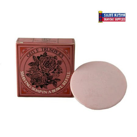 Geo F Trumper Shaving Soap Refill Rose