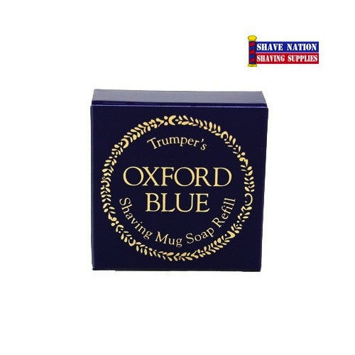 Geo F Trumper Shaving Soap Refill Oxford Blue