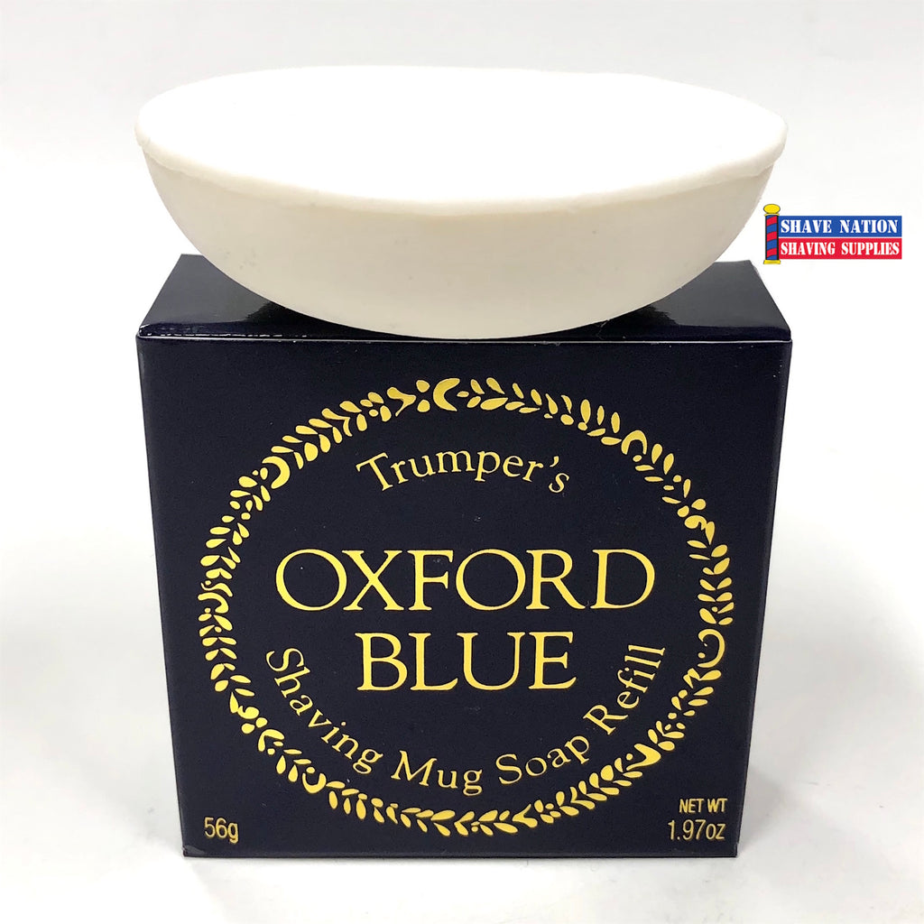 Geo F Trumper Traditional Shaving Soap Refill Oxford Blue