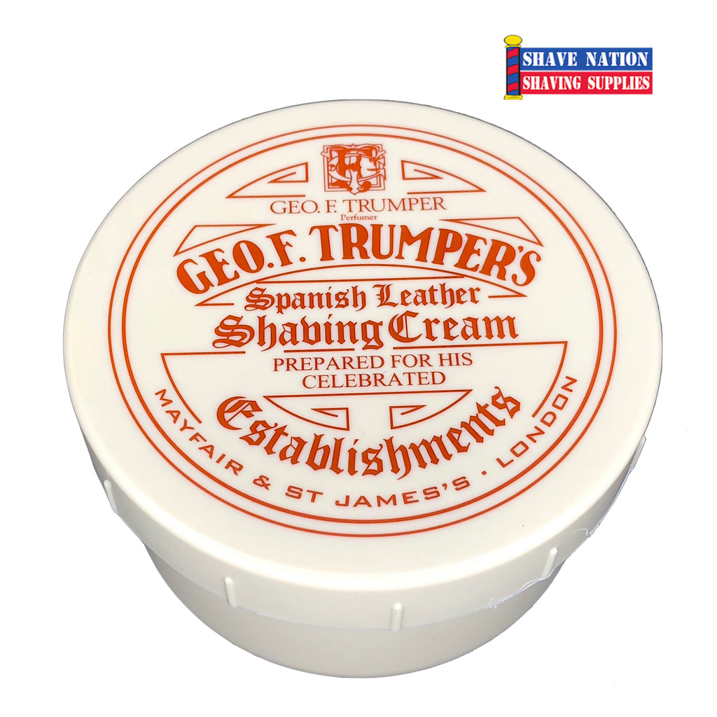 Geo F Trumper Spanish Leather Shaving Cream Bowl