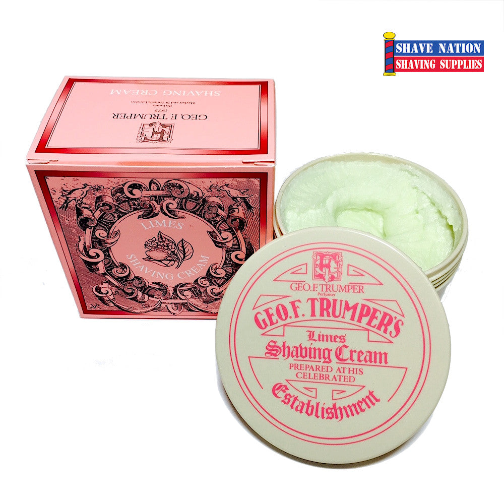 George F Trumper Shaving Cream Limes