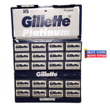Gillette Platinum DE Blades 100ct