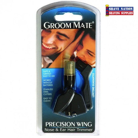 Groom Mate Precision Wing Nose-Ear Trimmer