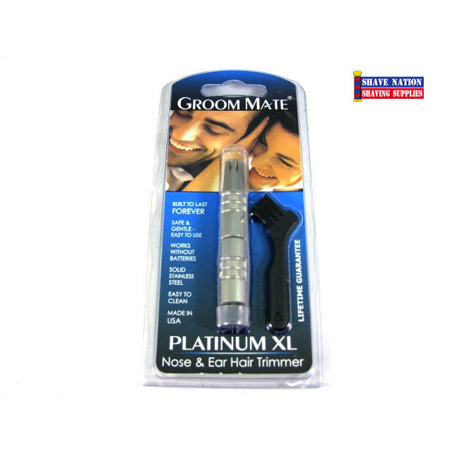 Groom Mate Nose Ear Trimmer Platinum XL